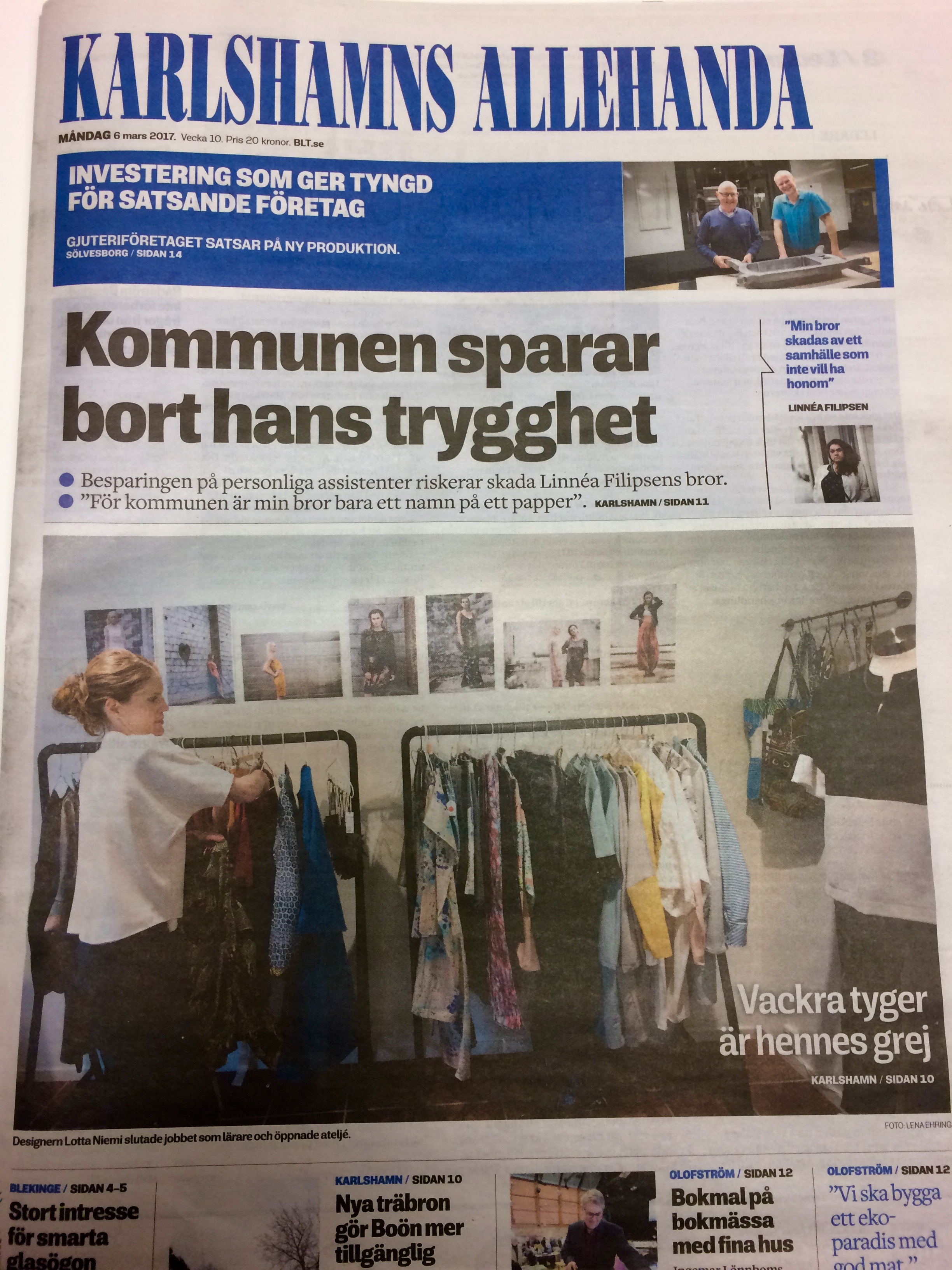 3 new newspaper articles! – Lotta Niemi cdf156f5c0e36